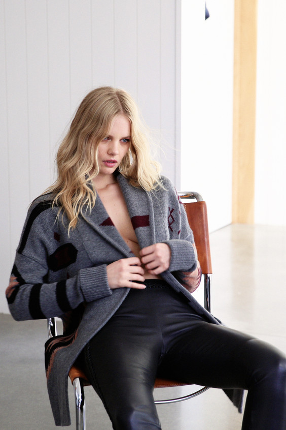 Marloes Horst for360Cashmere Holiday '18