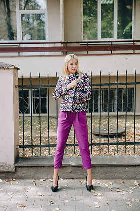 Жакет фіолетовий