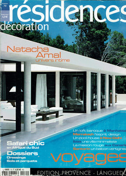 résidences-décoration-2006-couverture-
