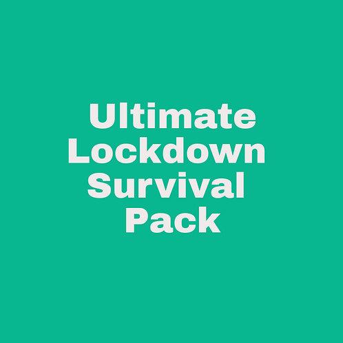 Ultimate Lockdown Survival Pack