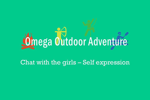 Chat with the girls - self expression