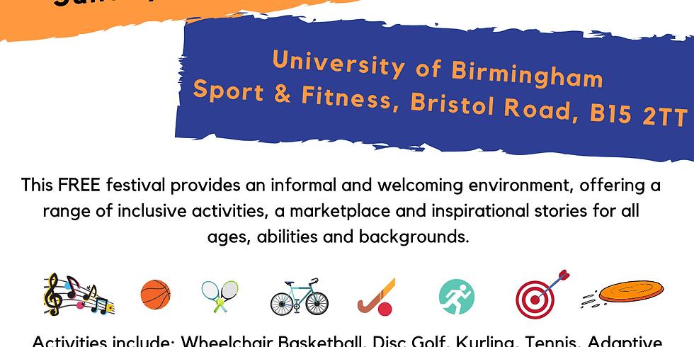 Birmingham inclusive sports festival