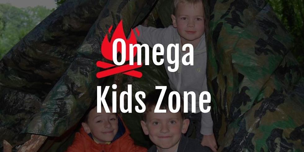 Omega Kids zone at Wiggington Street Eats and Beats
