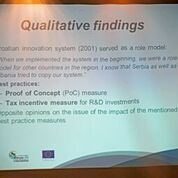 Qualitative findings were presented