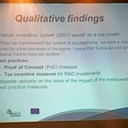 Qualitative findings were presented