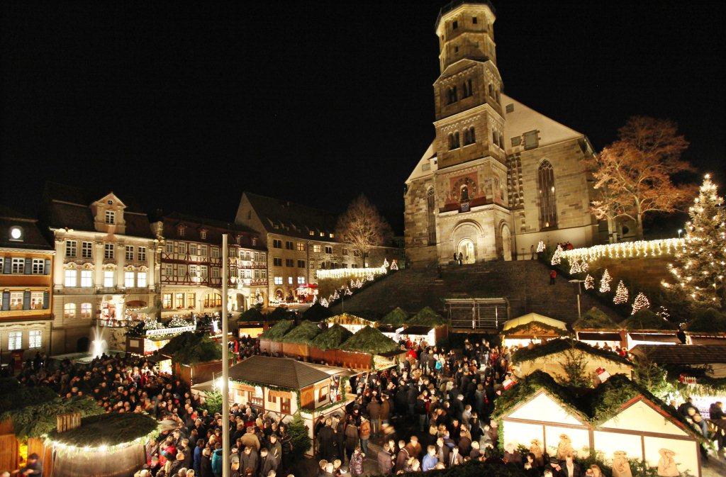Weihnachtsmarkt Schwäbisch Hall