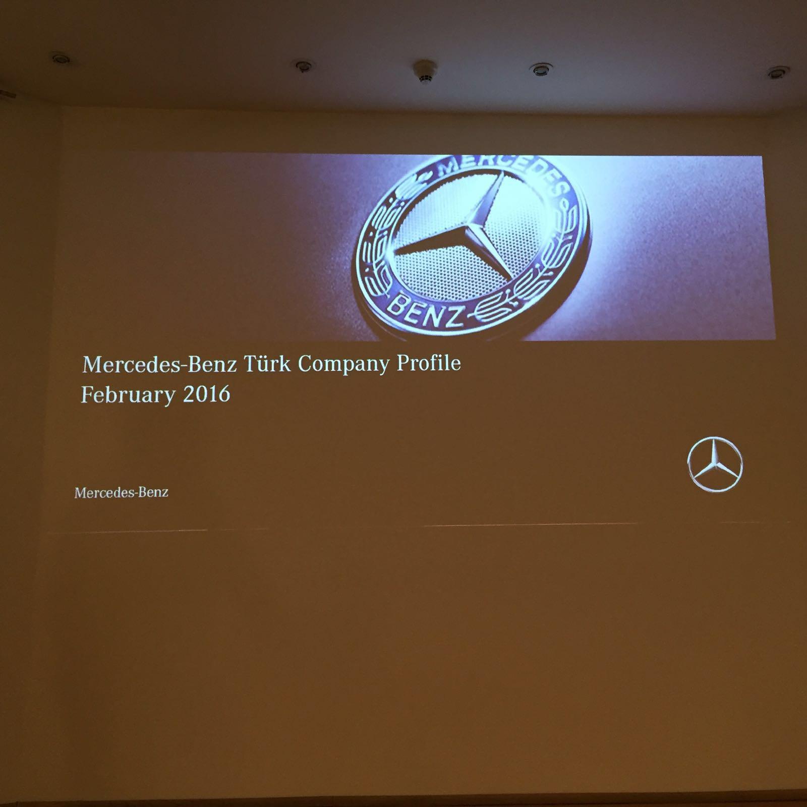 Besuch bei Mercedes Türk