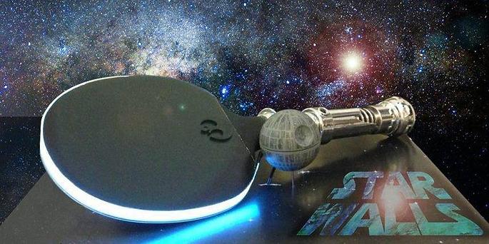 Ping Pong, Star Wars, Light Saber, Star Walls