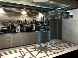 Art Deco Theater Lobby