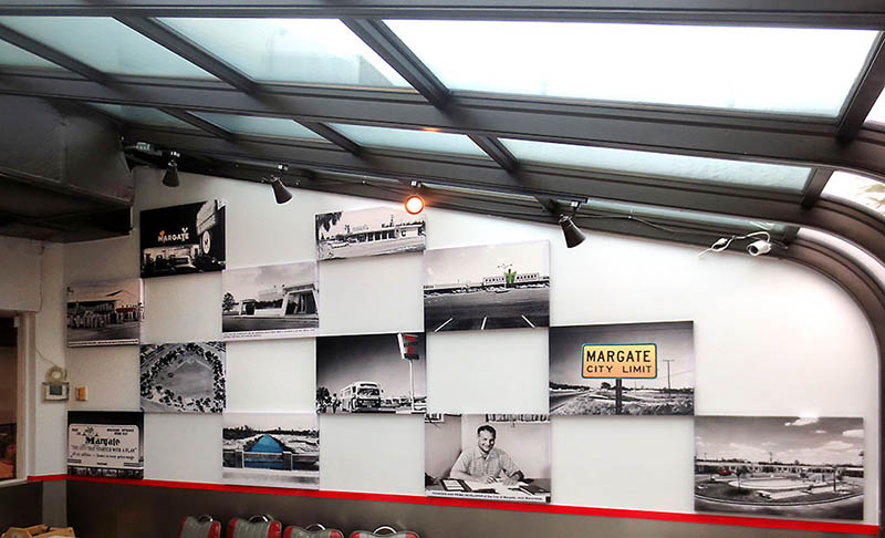 Acoustic Panels Featuring Vintage City Images
