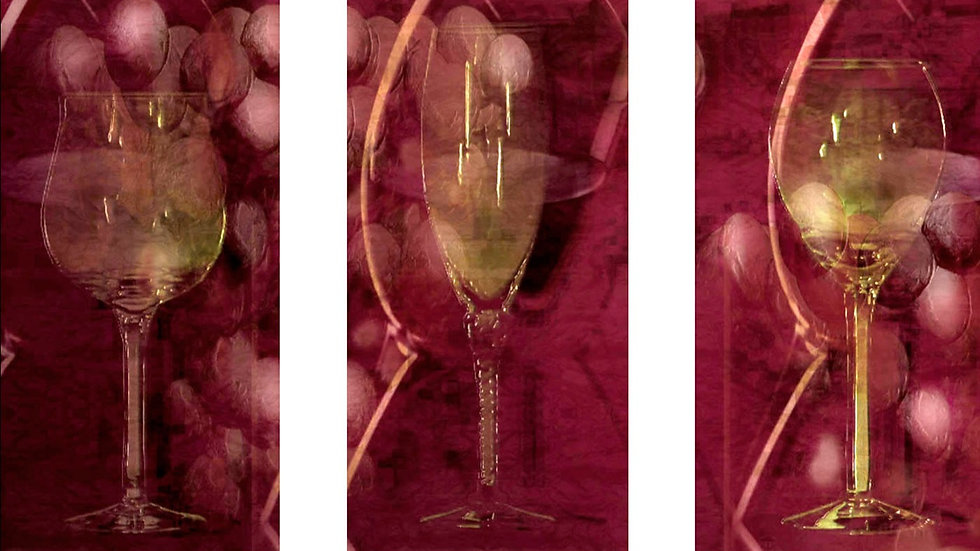 Glass of Grapes