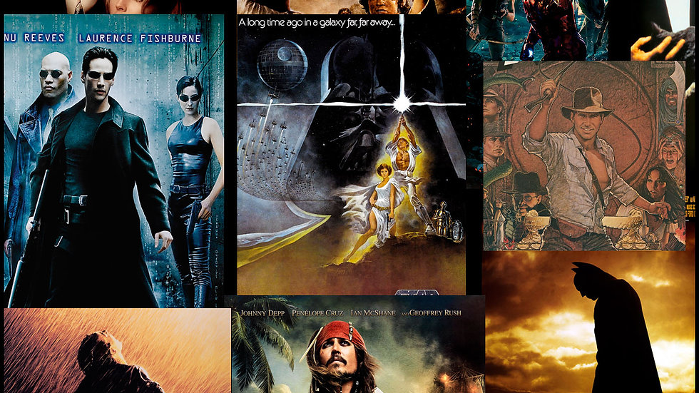 Movie Poster Acoustic Panels