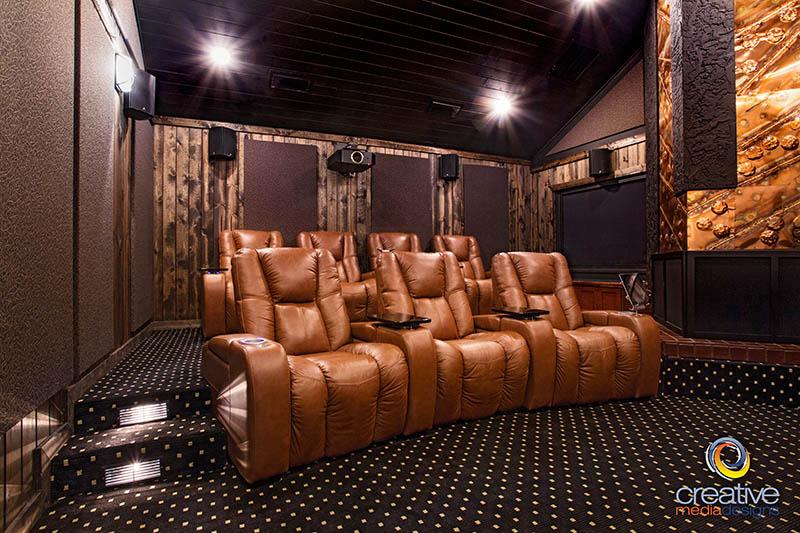 rustic-home-theater-design