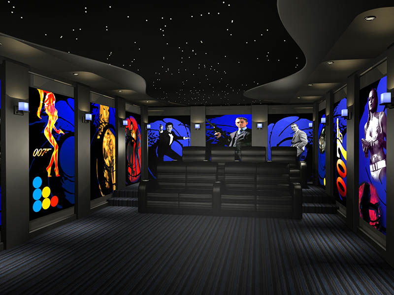 James Bond Home Theater Theme 2