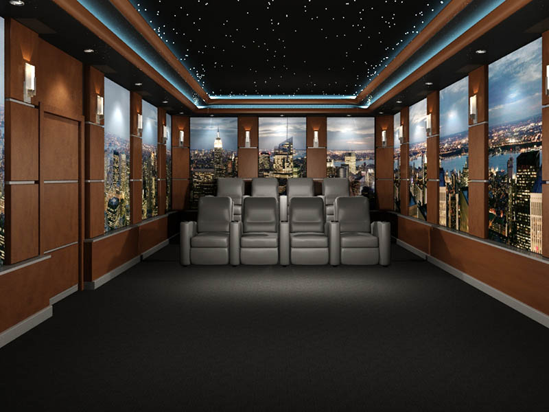 new-york-theme-home-theater