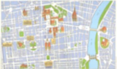 mappa B&B Torino