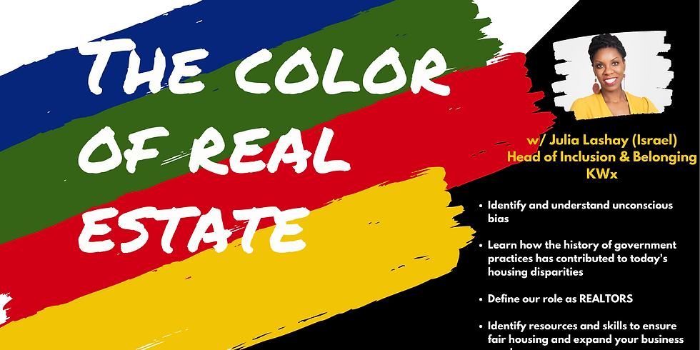 Color of Real Estate with Julia Lashay Israel