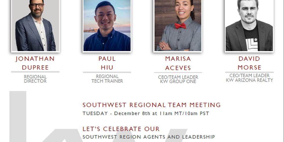December Southwest Regional Team Meeting