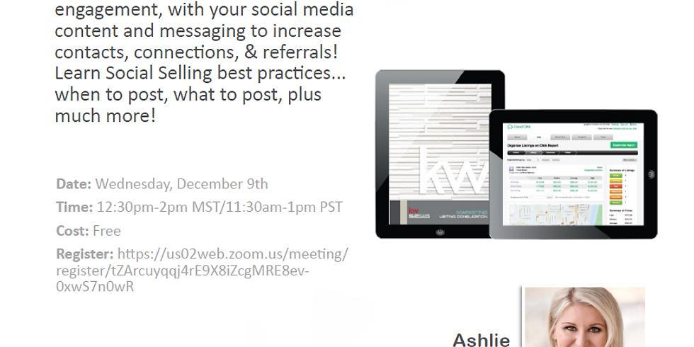 Selling Social with Ashlie VanWinkle