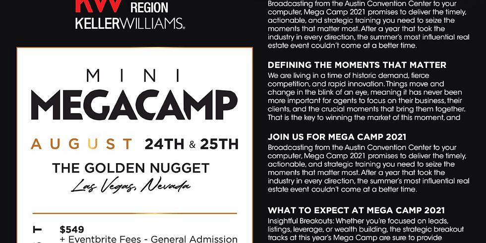 Mini Mega Camp presented by the Southwest Region in Las Vegas