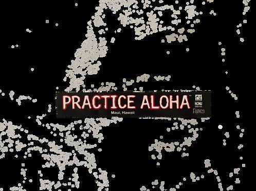 PRACTICE ALOHA stickers (5 units)