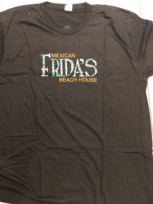 Fridas Men's T-Shirt/ Practice Aloha on back