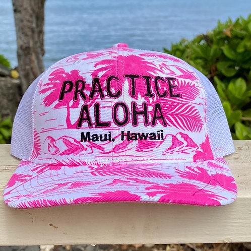 Women's Practice Aloha Snapback Tropical Hats From Maui