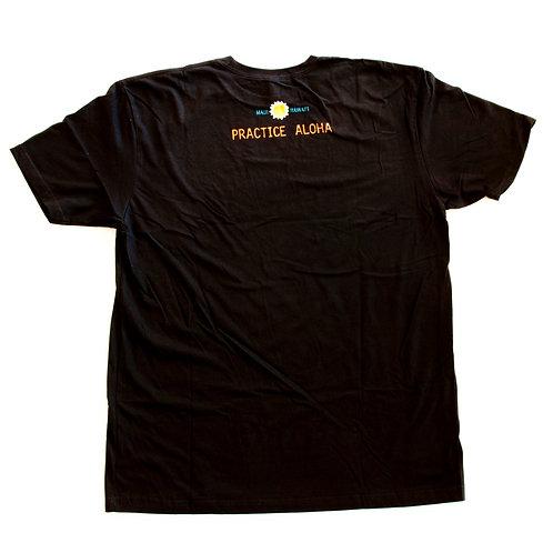 Black Honu/Practice Aloha Men's T-shirt