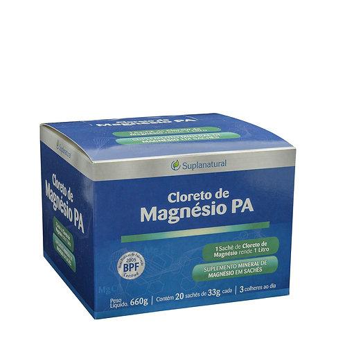 Cloreto P.A em po sachê 33g caixa contendo 20 unidades