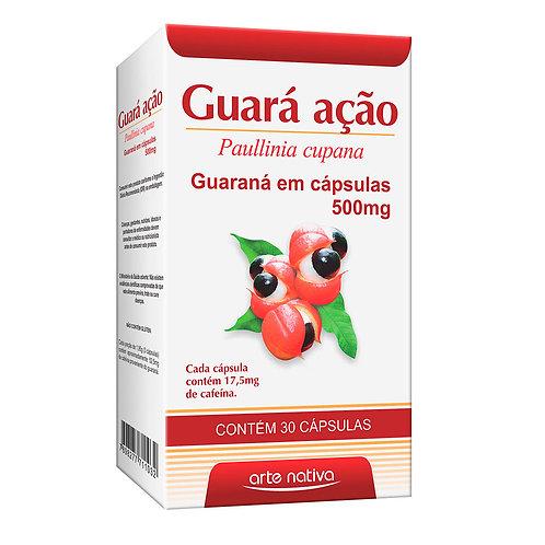 Guaraná cápsulas guará ação arte nativa