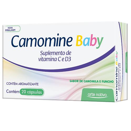 Suplemento vitamínico infantil camomine baby arte nativa