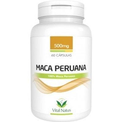 Suplemento emagrecedor maca peruana cápsulas vital natus