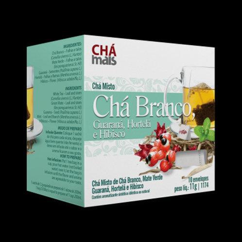 Chá branco sachês chá mais