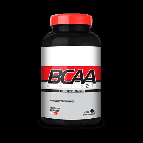 BCAA 90 cápsulas chá mais