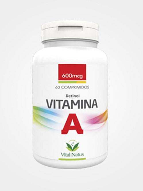 Suplemento vitamínico vitamina A comprimido vital natus