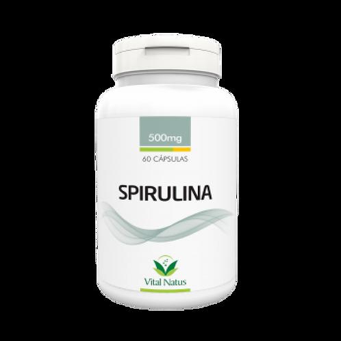 Suplemento nutricional spirulina cápsulas vital natus