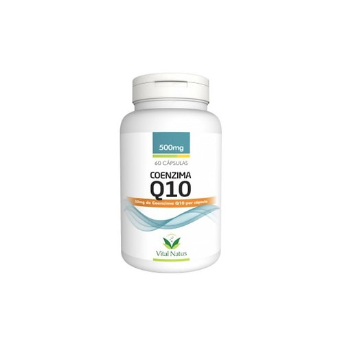 Suplemento vitamínico coenzima q10 cápsulas vital natus