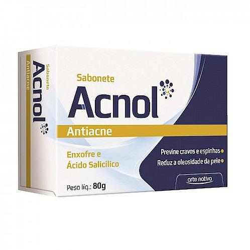Sabonete antiacne acnol arte nativa