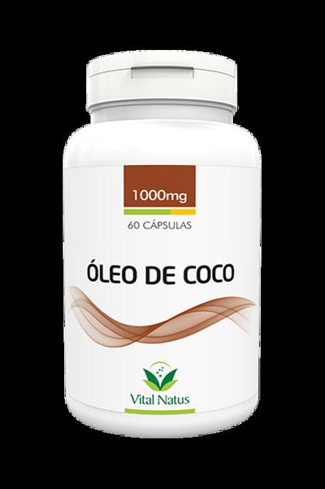 Óleo de coco 60 cápsulas vital natus