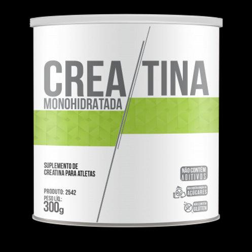 Suplemento creatina monohidratada em pó 300 gramas