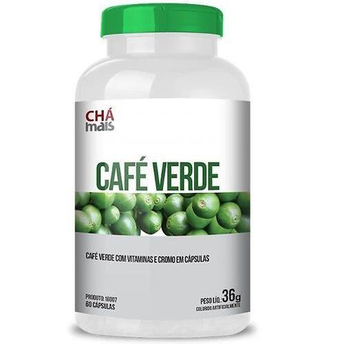 Suplemento vitamínico café verde cápsulas chá mais