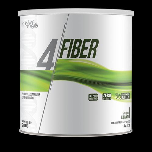 Suplemento de fibras 4fiber sabor limão chá mais