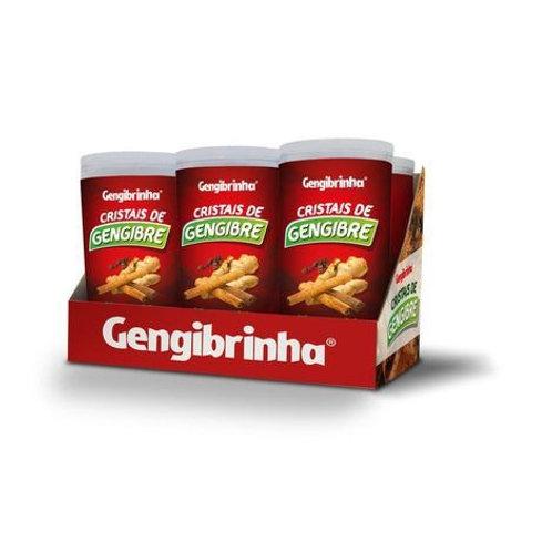 Cristais de gengibre Gengibrinha sabor cravo e canela