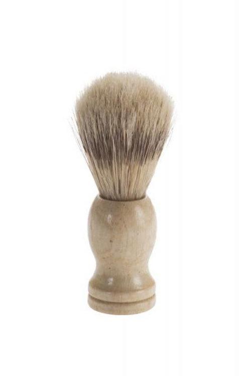 Pincel de barba em madeira raskalo