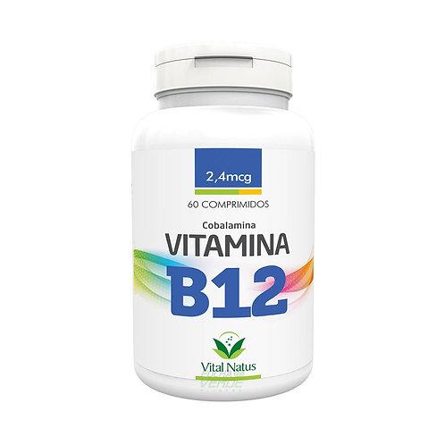 Suplemento vitamínico vitamina B12 comprimidos vital natus