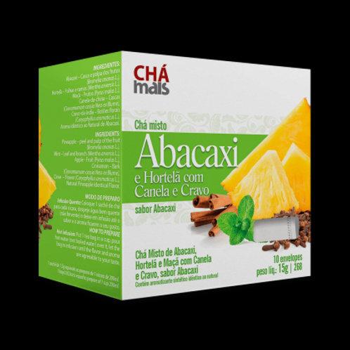 Chá misto de abacaxi sachês chá mais