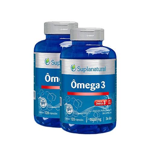 Kit suplemento vitamínico ômega 3 suplan