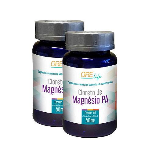 kit cloreto de magnésio PA orelife