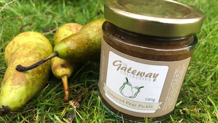 Pear and Ginger Pickle