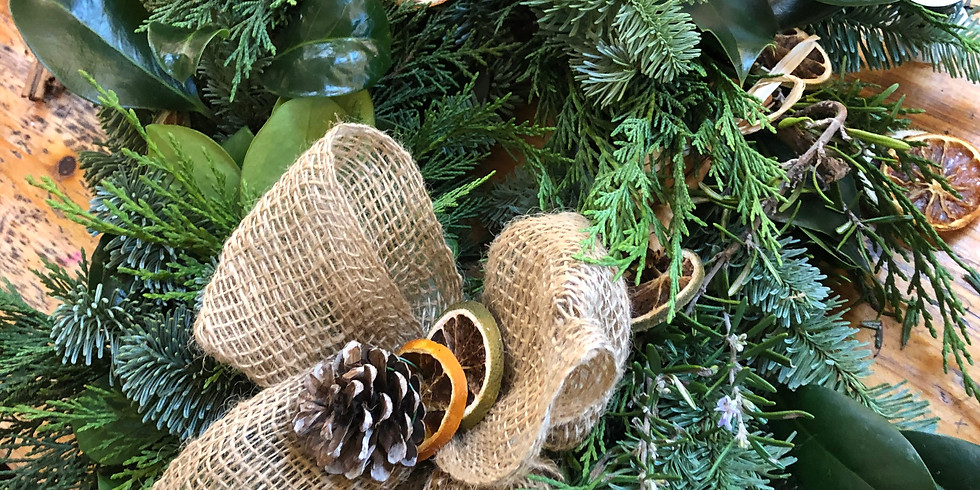 Wreath making workshop (outdoor)